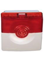 Оповещатель комбинированный ОПОП 124-7 (красно-белый) Рубеж