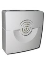 Оповещатель охранно-пожарный звуковой  ОПОП 2-35, 24В (корпус белый)